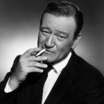 John Wayne Smoking